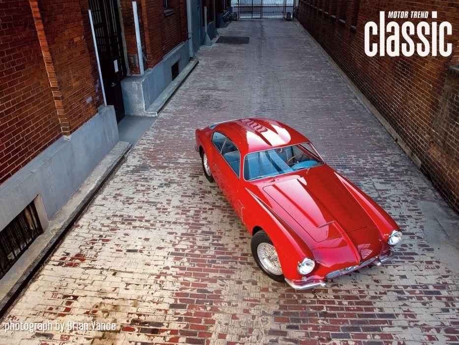 1954 Maserati A6G 2000 Zagato Coupe Old Classic Retro Original Italy 1600x1200-03 wallpaper