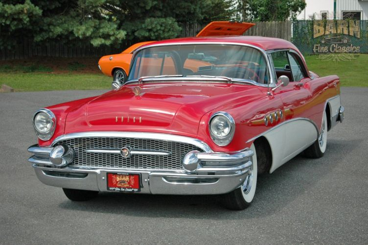 1955 Buick Roadmaster Coupe Classic Old Vintage Retro USA 1500x1000-07 wallpaper