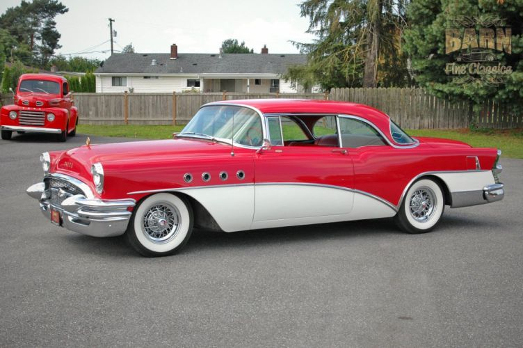 1955 Buick Roadmaster Coupe Classic Old Vintage Retro USA 1500x1000-11 wallpaper