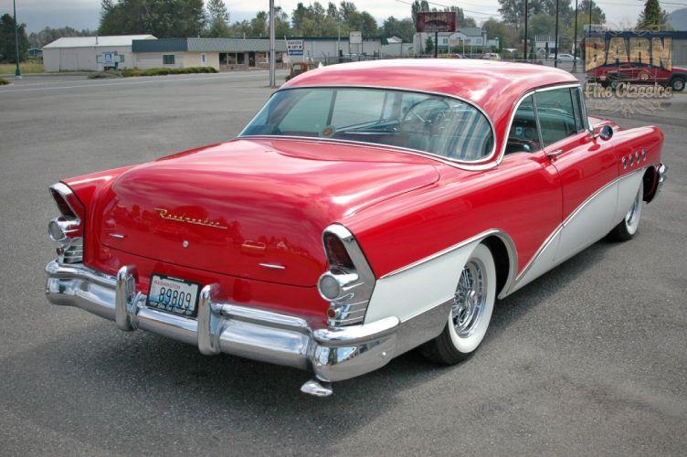 1955 Buick Roadmaster Coupe Classic Old Vintage Retro USA 1500x1000-16 wallpaper