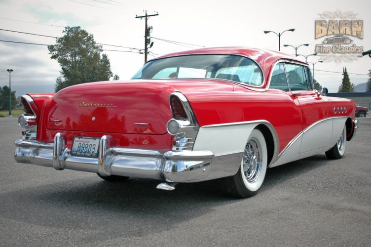 1955 Buick Roadmaster Coupe Classic Old Vintage Retro USA 1500x1000-17 wallpaper