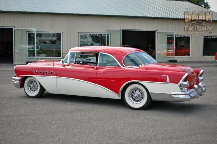 1955 Buick Roadmaster Coupe Classic Old Vintage Retro USA 1500x1000-22 wallpaper