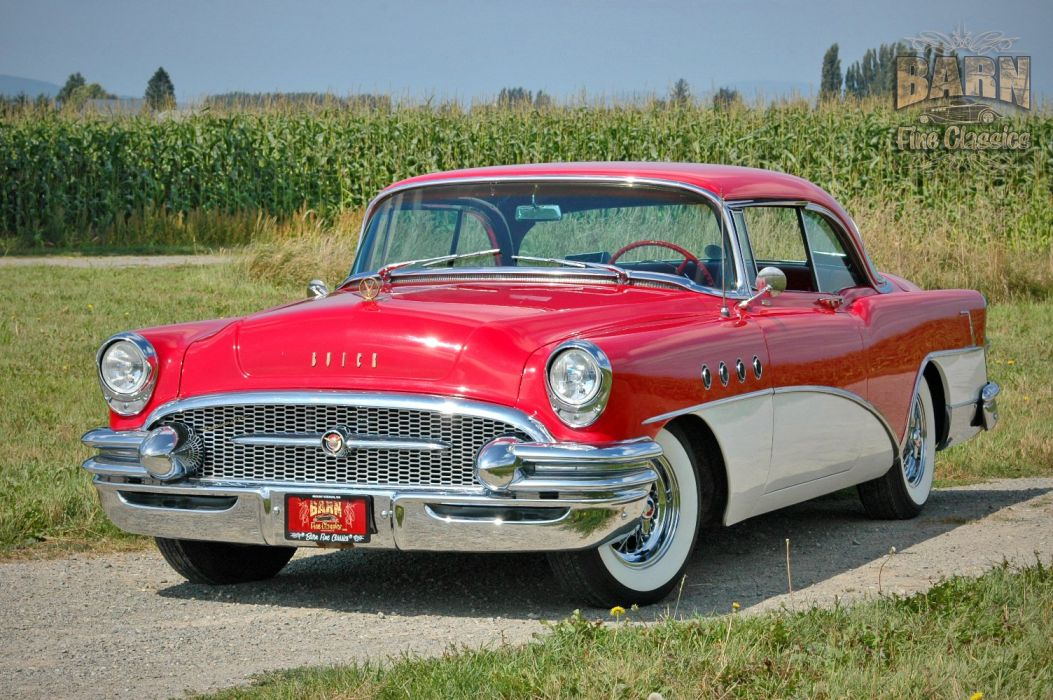 1955 Buick Roadmaster Coupe Classic Old Vintage Retro USA 1500x1000-28 wallpaper