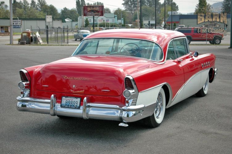 1955 Buick Roadmaster Coupe Classic Old Vintage Retro USA 1500x1000-29 wallpaper