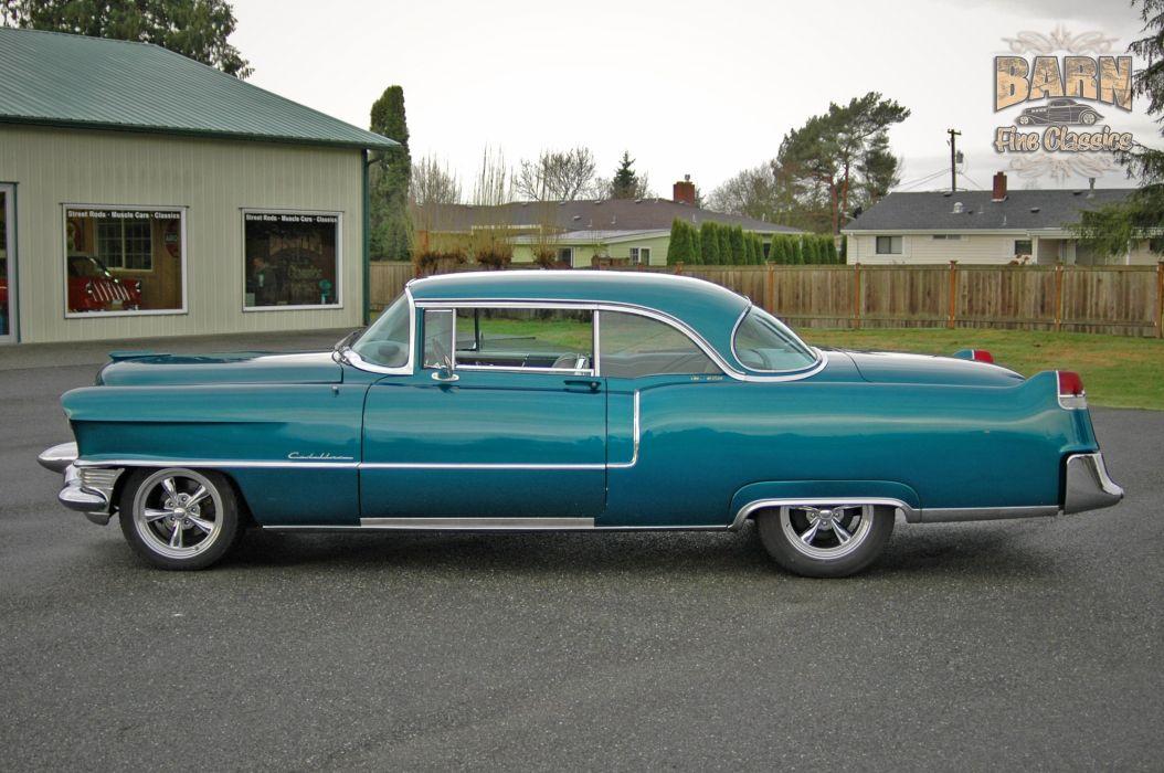 1955 Cadillac Coupe De Ville Coupe Hardtop Hotrod Streetrod Hot Rod Street USA 1500x1000-03 wallpaper