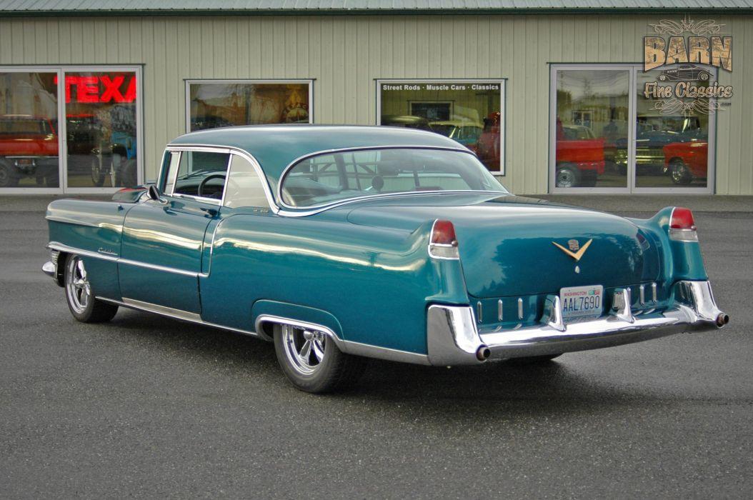 1955 Cadillac Coupe De Ville Coupe Hardtop Hotrod Streetrod Hot Rod Street USA 1500x1000-05 wallpaper