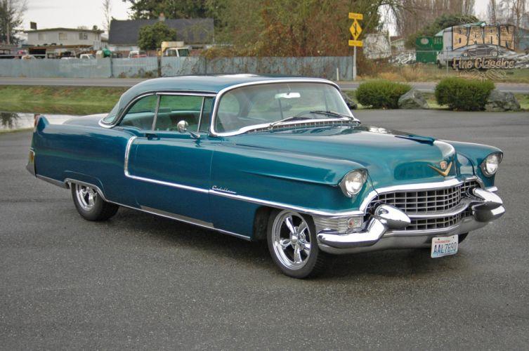 1955 Cadillac Coupe De Ville Coupe Hardtop Hotrod Streetrod Hot Rod Street USA 1500x1000-14 wallpaper