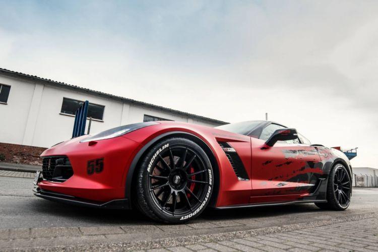CHEVY Corvette Z06 BBM Motorsport cars modified wallpaper