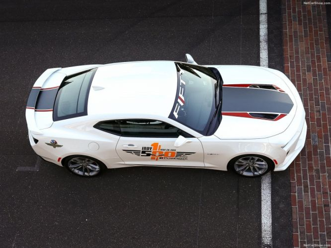 Chevrolet Camaro SS Indy 500 Pace Car cars 2016 wallpaper