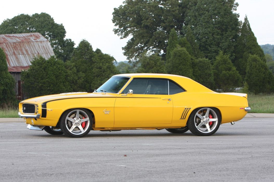 1969 chevy Camaro Pro Touring cars modified wallpaper