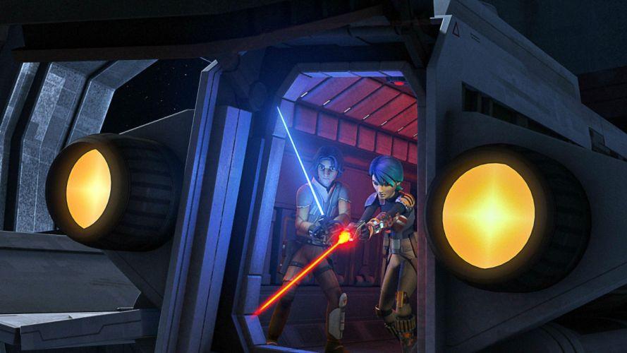 STAR WARS sci-fi acdtion fighting futuristic series adventure disney wallpaper