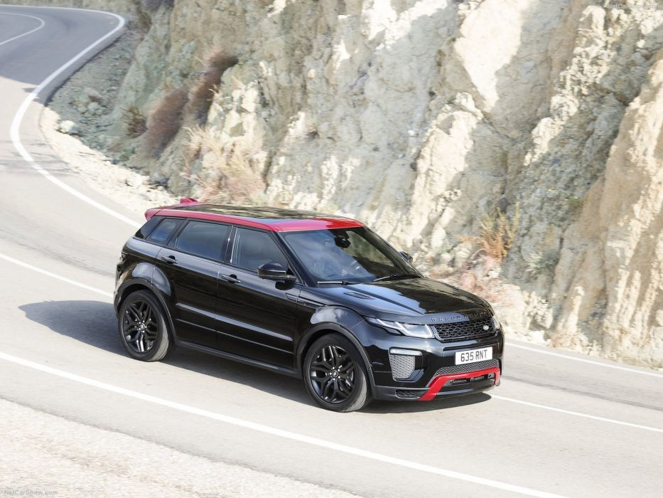 Land Rover Range Rover Evoque Ember Edition cars black suv 2016 wallpaper
