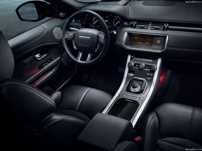 Land Rover Range Rover Evoque Ember Edition cars black suv 2016 wallpaper
