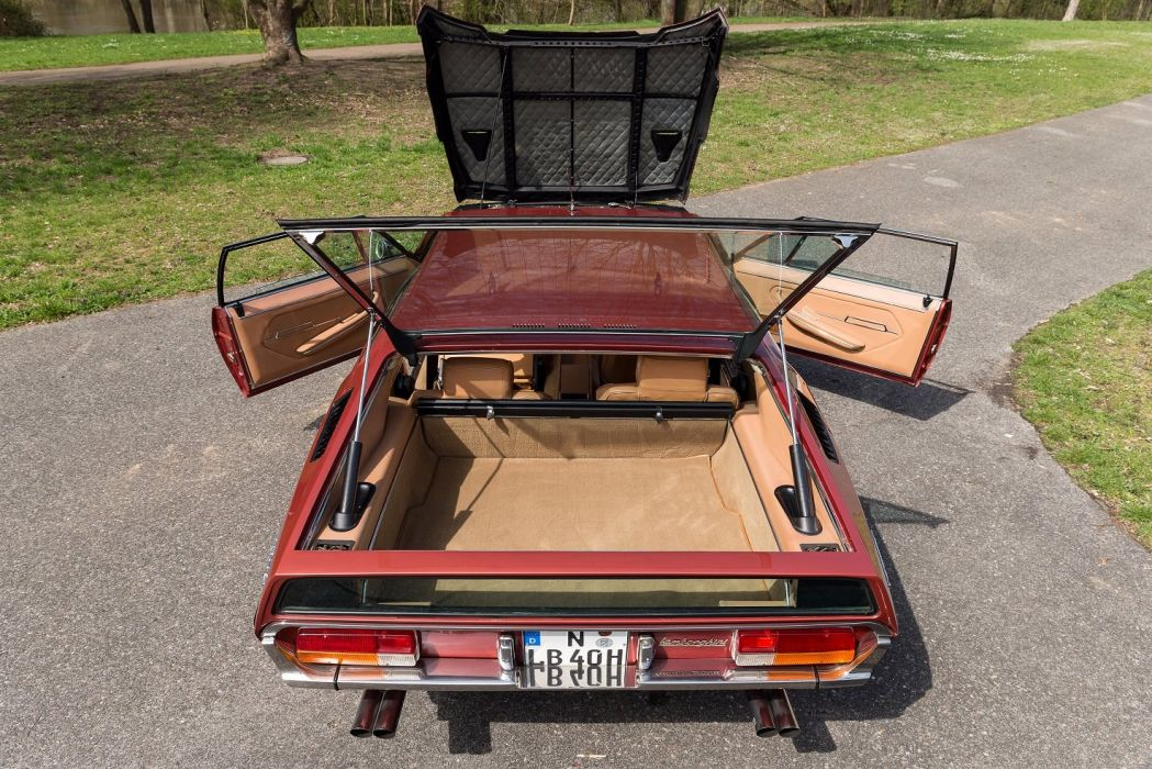 Lamborghini Espada 400 GTE US-spec cars classic 1970 wallpaper