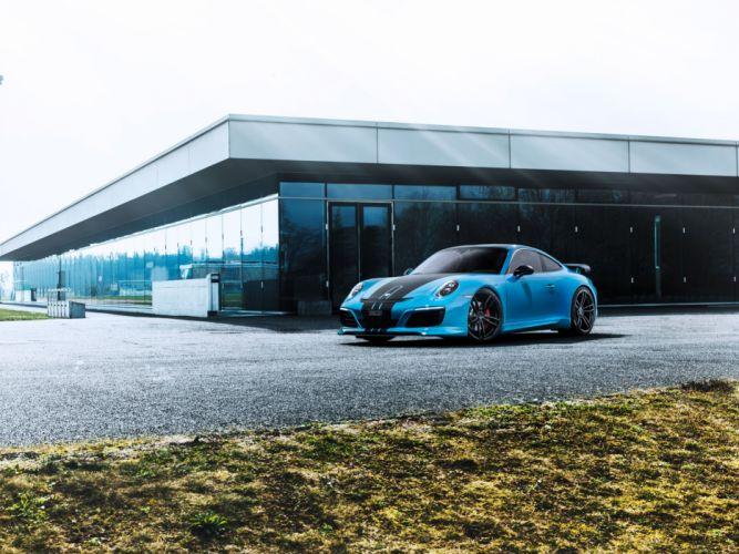 TechArt Porsche 911 Carrera 4S Coupe (991) cars modified 2016 wallpaper