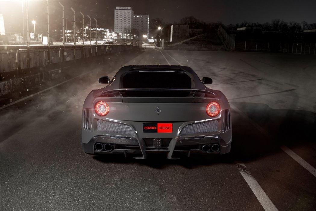 Novitec Rosso Ferrari F12 berlinetta N-Largo S cars modified 2016 wallpaper