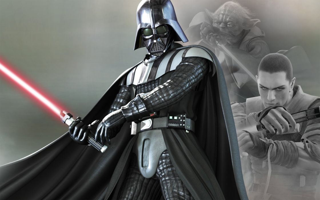 STAR WARS sci-fi acdtion fighting futuristic series adventure disney warrior darth vader wallpaper