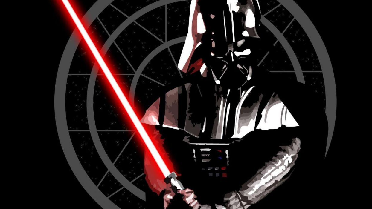 STAR WARS sci-fi acdtion fighting futuristic series adventure disney warrior darth vader wallpaper