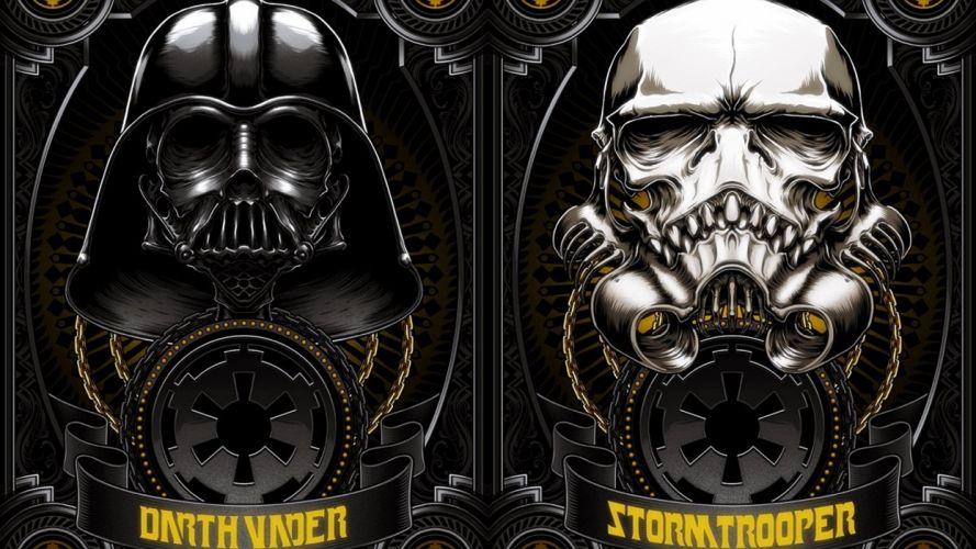 STAR WARS sci-fi acdtion fighting futuristic series adventure disney warrior darth vader poster wallpaper