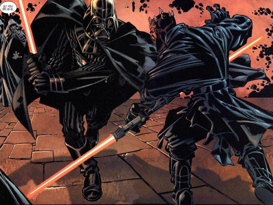 STAR WARS sci-fi acdtion fighting futuristic series adventure disney warrior darth vader cyborg poster wallpaper