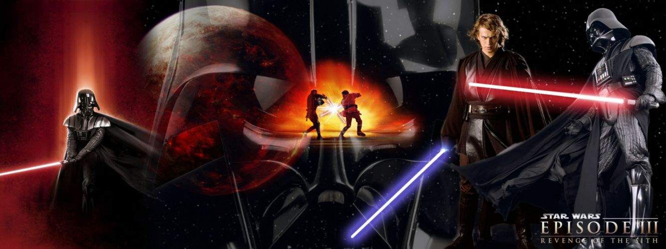 STAR WARS sci-fi action fighting futuristic series adventure disney warrior darth vader cyborg wallpaper