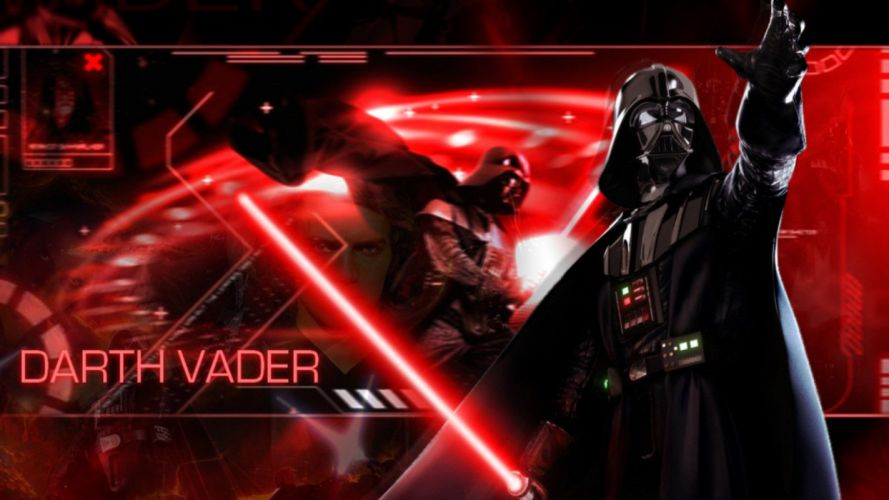 STAR WARS sci-fi action fighting futuristic series adventure disney warrior darth vader cyborg poster wallpaper