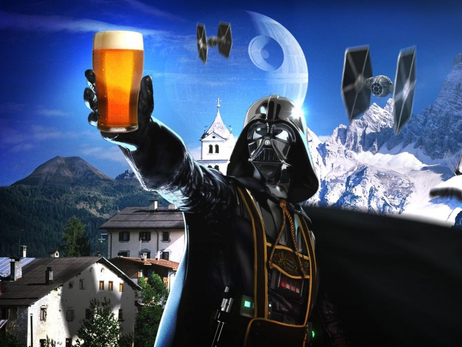 STAR WARS sci-fi action fighting futuristic series adventure disney poster beer alcohol wallpaper