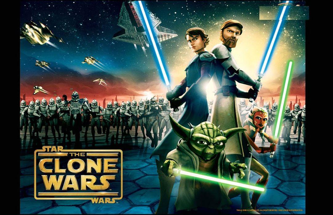 STAR WARS sci-fi action fighting futuristic series adventure disney clone poster wallpaper