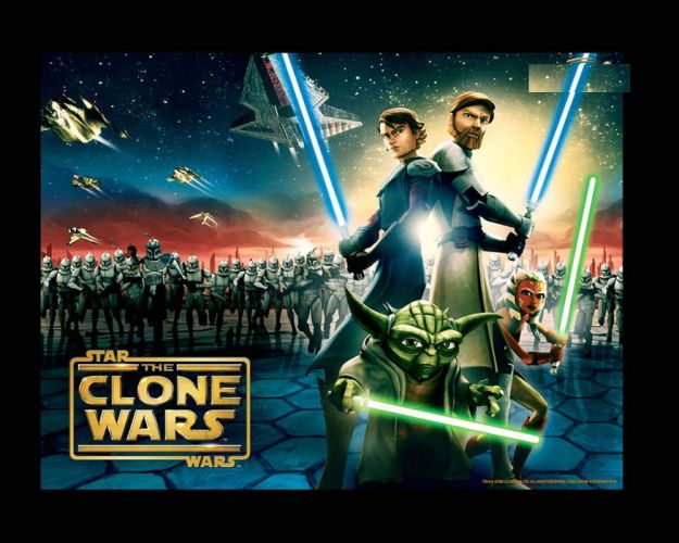 STAR WARS sci-fi action fighting futuristic series adventure disney clone poster wallpaper