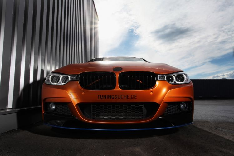 BMW 328i Touring cars modified wallpaper