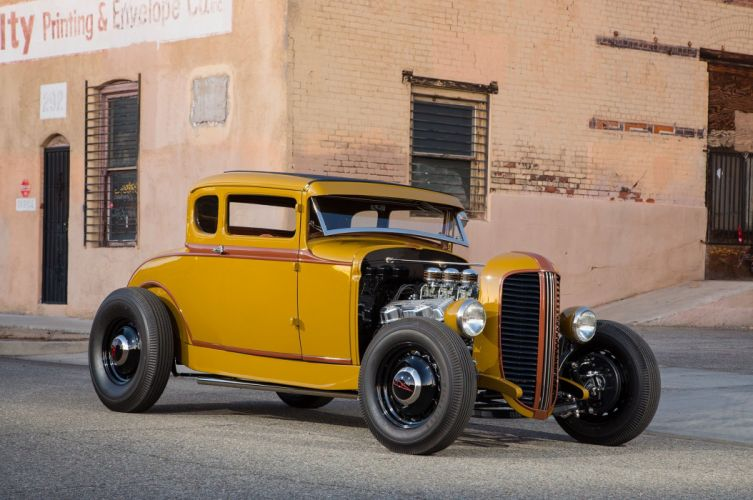 1931 Ford Five-Window Coupe cars hot rod wallpaper