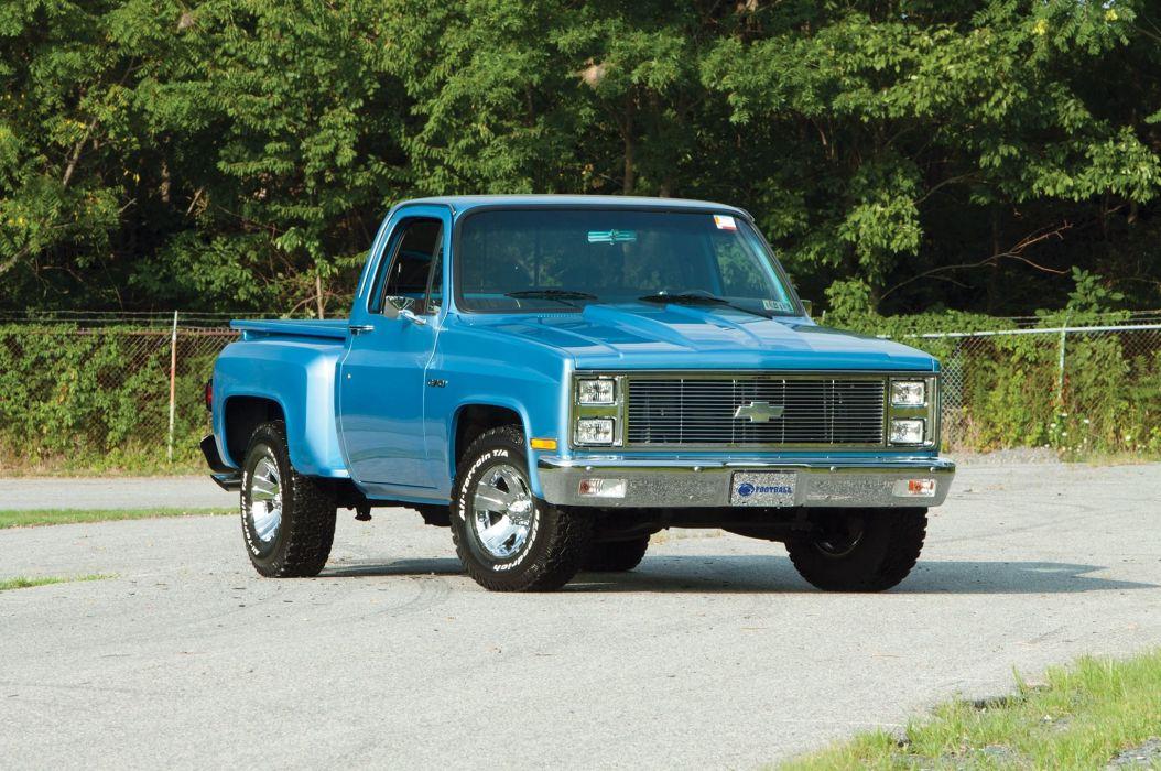 1982 Chevrolet C10 truck cars pickup blue wallpaper