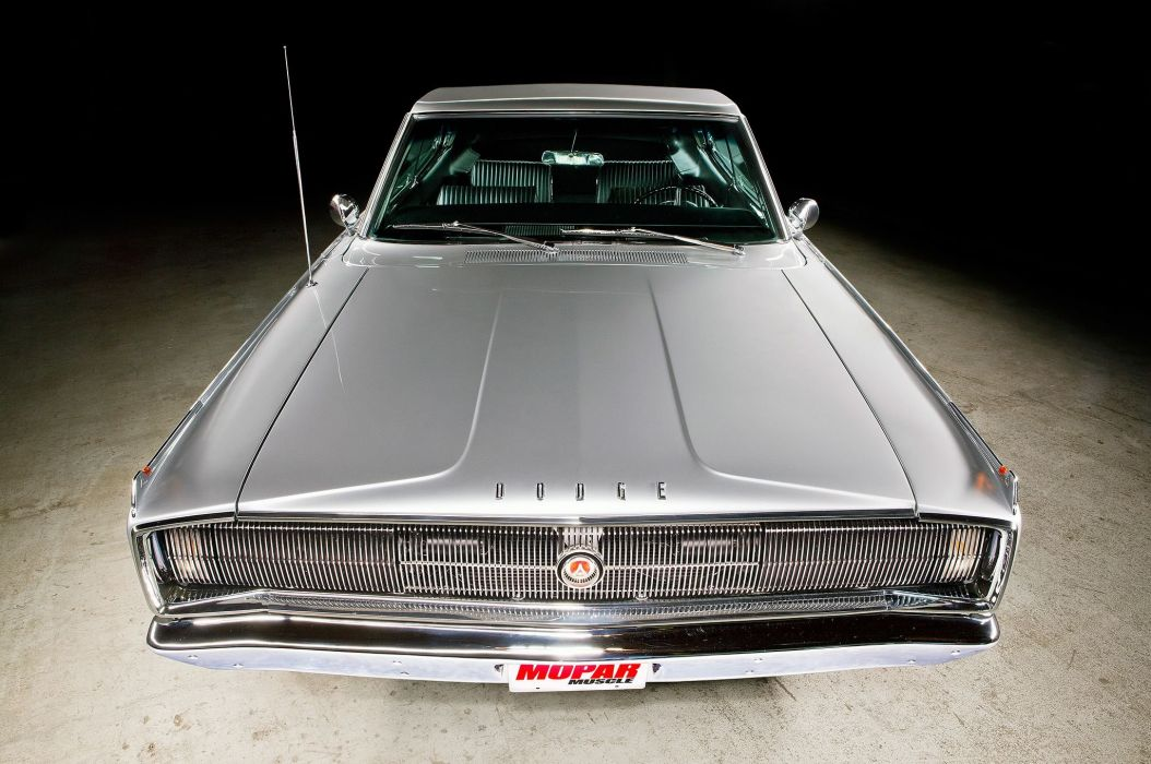 1967 Dodge Charger cars coupe silver wallpaper