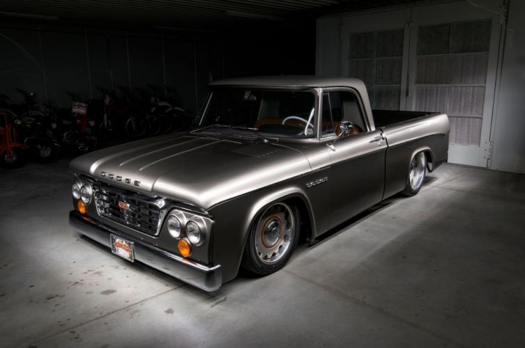 1965 Dodge D100 cars pickup modified wallpaper