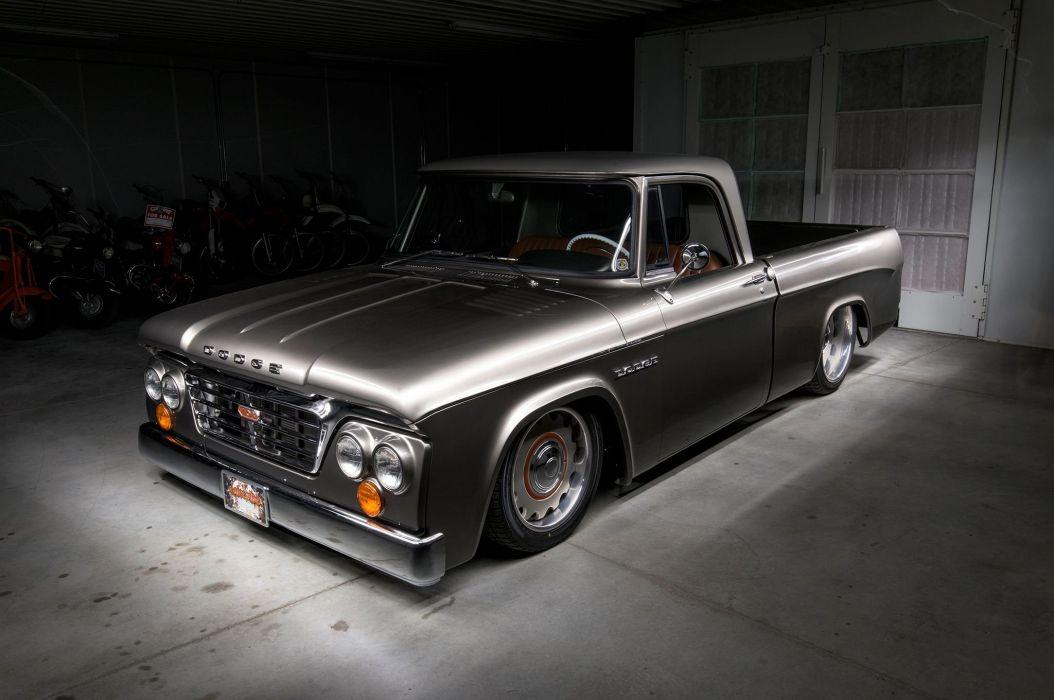 1965 Dodge D100 cars pickup modified wallpaper
