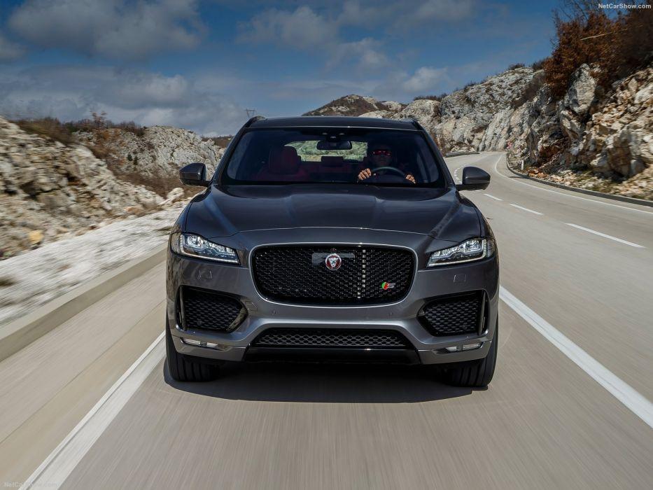 Jaguar F-Pace S cars suv 2016 wallpaper