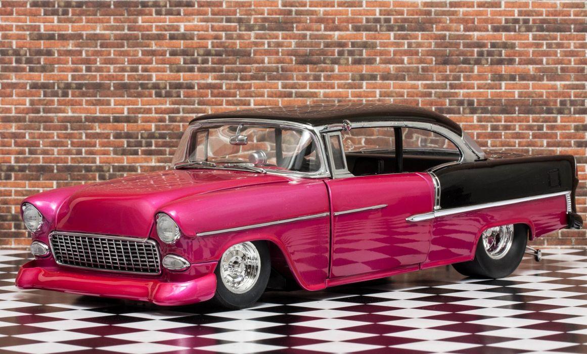 1955 Chevolet BelAir Pro Stock Street Drag Rod USA 2048x1235 wallpaper