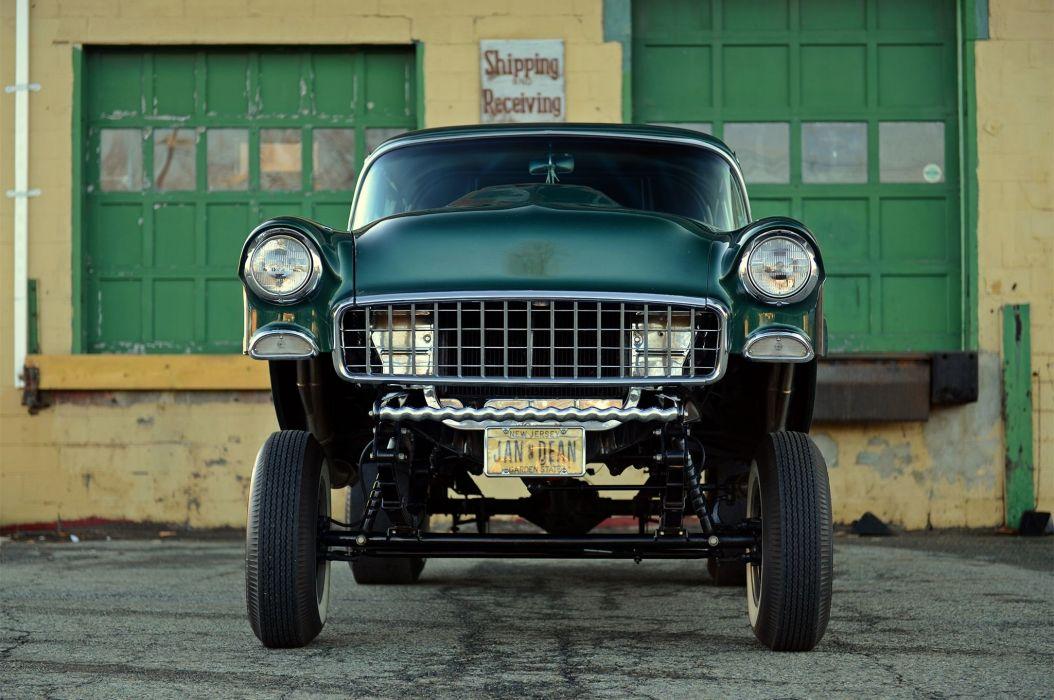 1955 Chevrolet 210 Sedan Two Door Gasser Drag Dragster Street Hot USA 2048x1360-06 wallpaper