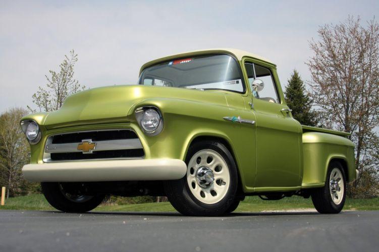 1955 Chevrolet 3100 Pickup Stepside E-Rod Lingenfelter Streetrod Street Rod USA 1600x1066-07 wallpaper