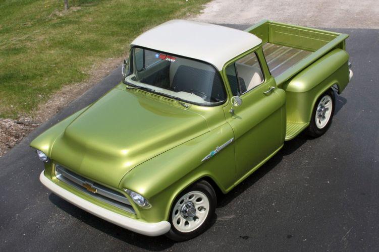 1955 Chevrolet 3100 Pickup Stepside E-Rod Lingenfelter Streetrod Street Rod USA 1600x1066-08 wallpaper