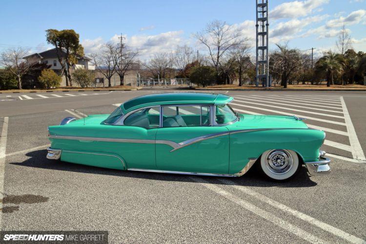 1955 Chevrolet Bel Air Hotrod Hot Rod Custom Kustom Old School USA 1920x1280-03 wallpaper