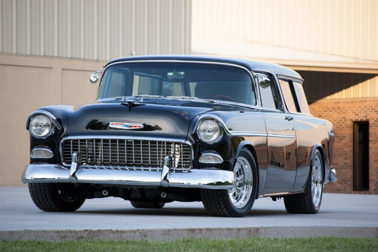 1955 Chevrolet Bel Air Nomad Hotrod Streetrod Hot Rot Street Wagon USA 1500x1000-09 wallpaper