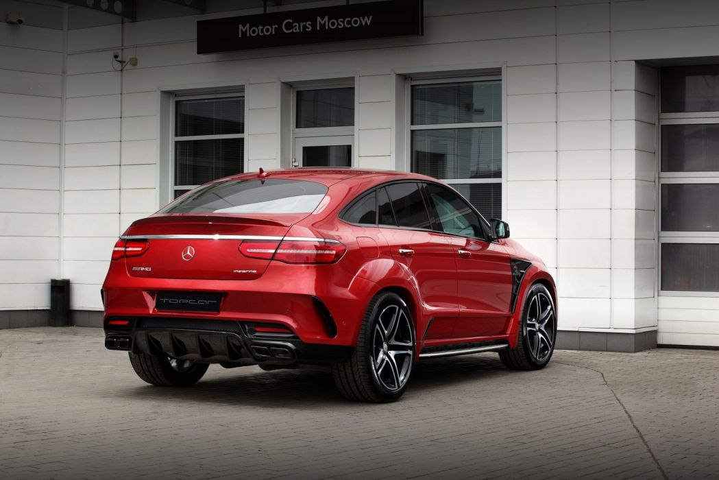TopCar Mercedes Benz GLE Coupe Inferno cars suv red modified (C292) 2016 wallpaper