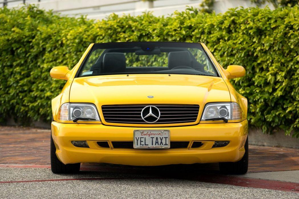 1999 2001 Mercedes Benz SL500 US-spec cars (R129) wallpaper