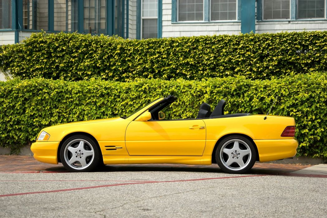 1999 2001 Mercedes Benz SL500 US-spec cars (R129) wallpaper
