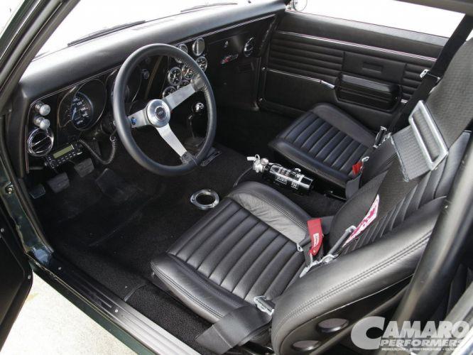 1968 Chevrolet Chevy Camaro Pro Touring Super Street Car USA -09 wallpaper