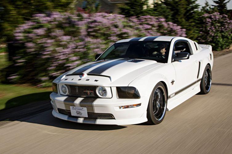 2008 Ford Mustang Black Widow Pro Touring Super Street Car USA -15 wallpaper