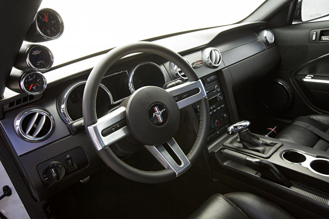 2008 Ford Mustang Black Widow Pro Touring Super Street Car USA -09 wallpaper