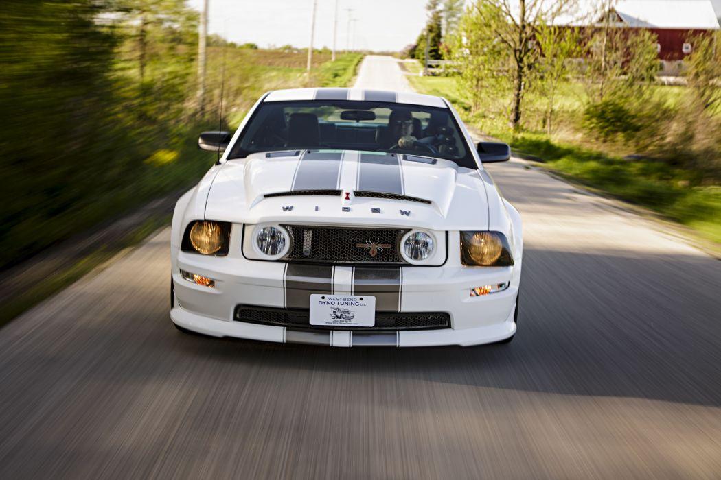 2008 Ford Mustang Black Widow Pro Touring Super Street Car USA -18 wallpaper