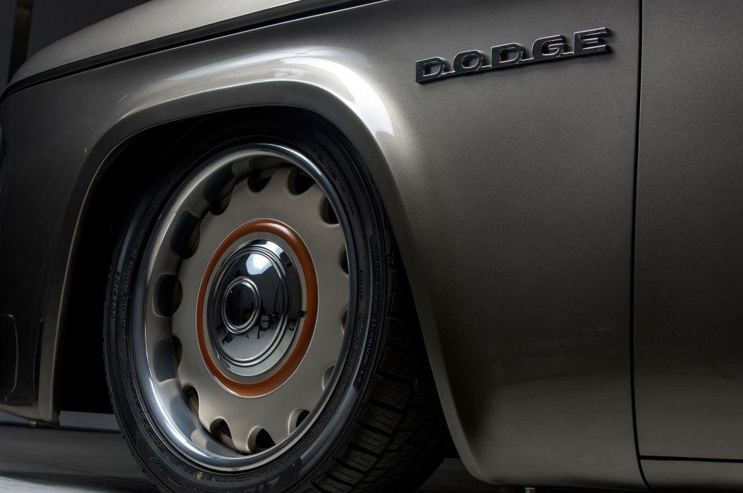 1965 Dodge D-100 Pickup Streetrod Street Rod Hot Low Custom USA -06 wallpaper